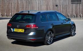 Picture Volkswagen, rear view, universal, 2016, Golf GTD Estate