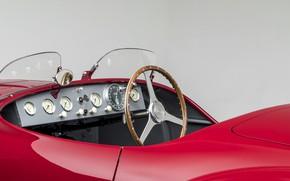 Picture Key, Salon, Ferrari, Classic, The wheel, 1947, Classic car, Sports car, Sports car, Ferrari 125 …