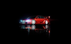 Picture Audi, Minimalism, Audi, Machine, Background, Audi A4, Transport & Vehicles, by Nicolas Fauvel, Nicolas Fauvel, …