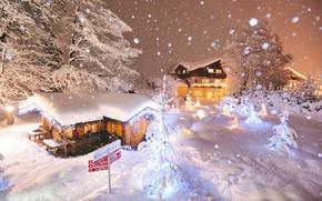 Picture Nature, Austria, Snow, Nature, Snow, Austria, Winter city, Winter city