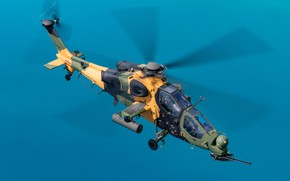 Picture attack helicopter, T-129B, The Turkish air force