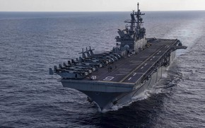 Picture USS America, Amphibious assault ship, LHA 6