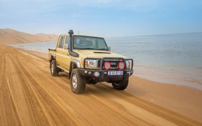 Picture toyota, 4x4, land cruiser, pickup, double cab