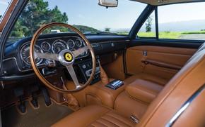 Picture Salon, Ferrari, Classic, The wheel, Classic car, Ferrari 400 Superamerica, The Short Wheelbase Coupe Aerodynamic, …