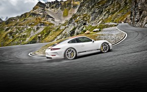 Wallpaper 911, Porsche, rear view, Coupe