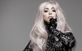 Picture look, girl, hair, makeup, singer, Lady Gaga
