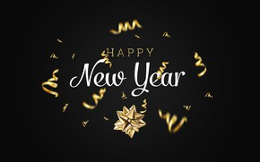 Picture holiday, New Year, congratulations, postcard