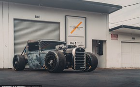 Picture Ford, Hot Rod, Custom, Vehicle, Model A