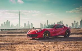 Picture Ferrari, supercar, Dubai, Dubai, Superfast, 812