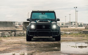 Picture Mercedes, Front, AMG, Black, G63, W463