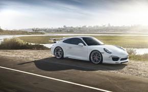 Picture 911, Porsche, White, VAG, Carrera 4S