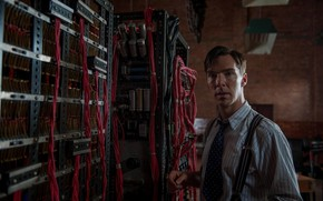 Picture mechanism, twilight, Benedict Cumberbatch, Benedict Cumberbatch, still from the film, 2014, The Imitation Game, The …