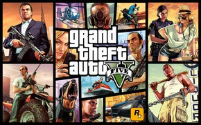 Picture The game, Machine, Weapons, Game, Cars, Legend, Grand Theft Auto V, GTA V, Rockstar Games, …
