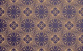 Picture gold, ornamental, pattern, gold, color, ornament