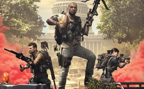 Picture weapons, Ubisoft, Game, Capitol, crossbow, agents, the gun, Tom Clancy's The Division 2, The Division …