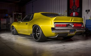 Picture Garage, Muscle car, 1972, Classic car, Sports car, AMC, AMC Javelin, By RingBrothers, AMX Defiant …