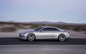 Picture Concept, Audi, coupe, speed, side, Coupe, 2014, Prologue