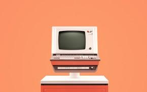 Picture computer, retro, 1970, cl 7500