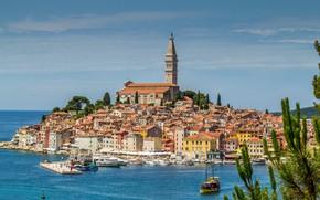 Picture coast, Croatia, Rovinj