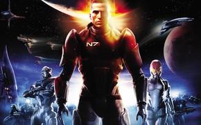 Picture fiction, game, John Shepard, John Shepard, BioWare, Mass Effect, fantastic, The reapers, Garrus Vakarian, Ashley …