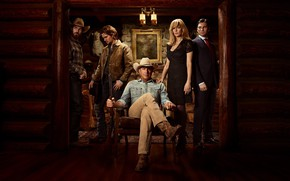 Picture the series, poster, Wes Bentley, Kevin costner, luke grimes, kelly reilly, Yellowstone the series, yellowstone, …