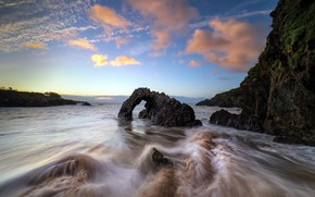 Picture sea, rocks, shore