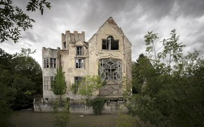Picture nature, house, ruins