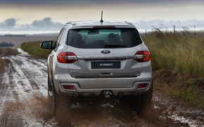 Picture Ford, rear view, Everest, 4WD, XLT, 2019