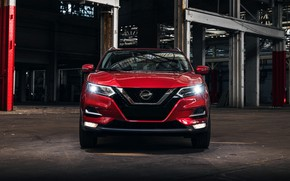 Picture Nissan, front view, Rogue, Sport, crossover, 2019