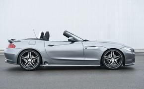 Picture grey, BMW, Roadster, Hamann, 2010, side view, E89, BMW Z4, Z4