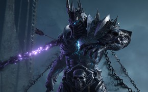 Picture Chain, Lich King, Blizzard Entertainment, World Of Warcraft, The Lich king, Highlord Bolvar Fordragon, The …