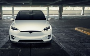 Picture front view, Tesla, Model X, Novitec, 2017