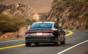 Picture Audi, rear view, 2019, A7 Sportback