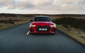 Picture road, Audi, speed, RS 7, 2020, UK version, RS7 Sportback