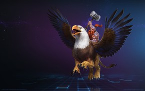 Picture Blizzard, WarCraft, Mr--Jack, Wildhammer Thane, Falstad, World of WarCraft, Gryphon, Mr Jack, by Mr Jack, ...