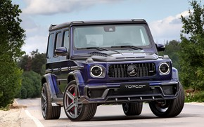 Picture AMG, Mercedes - Benz, G63, TOPCAR, BLUE MYSTIK, HELL