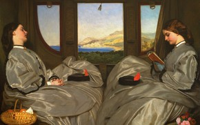 Picture 1862, Travelling companions, Augustus Leopold Egg