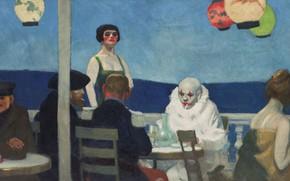 Picture 1914, Edward Hopper, Evening Blue