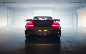 Picture lights, 911, Porsche, rear view, Turbo S, TechArt, 2019, GT Street RS