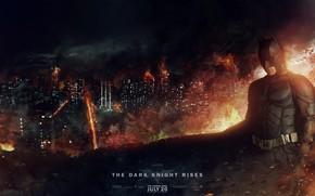 Picture Night, The city, Batman, House, Batman, The Dark Knight Rises, Christian Bale, Christian Bale, The …