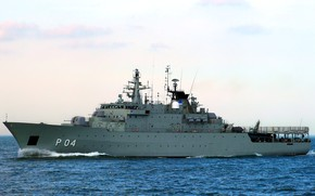 Picture sea, Navy, karlskrona, Sweden