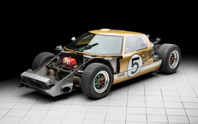 Picture Ford, 1966, 24 Hours of Le Mans, 24 hours of Le Mans, GT40, Sports car, …