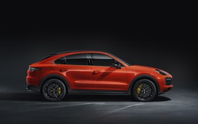 Picture Porsche, side view, Coupe, Turbo, Cayenne, 2019