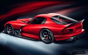 Picture Auto, Figure, Machine, Dodge, Viper GTS, Art, Viper, GTS, Vehicles, Transport, Transport & Vehicles, Andreas …