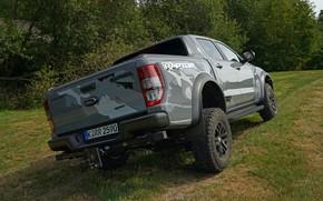 Picture grey, Ford, Raptor, pickup, suspension, Ranger, 2019