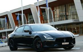 Picture Maserati, Quattroporte, the evening, 2018, GTS, AU-spec, GranSport, Nerissimo Edition