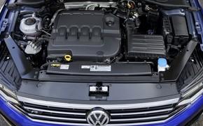 Picture engine, Volkswagen, Passat, R-Line, Variant, 2019