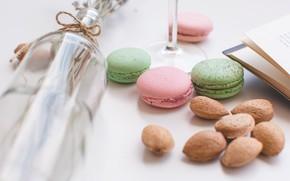 Picture cookies, book, dessert, book, macarons, Sweet, almond