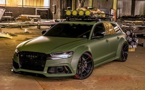 Picture Audi, Tuning, Tuning, RS6, Audi RS6 Sportback Army Green by RACE on ADV.1 Whe