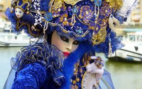 Picture decoration, mask, carnival, carnival mask